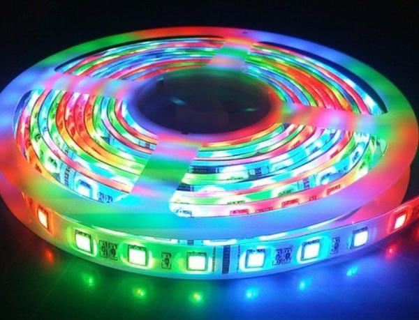 Лента led lds 5050 60 RGB IP65 13985